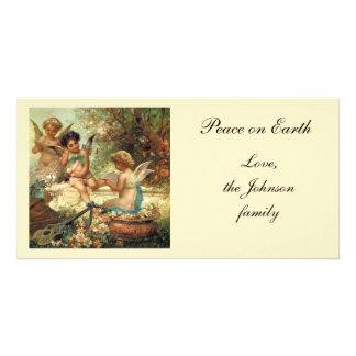 Victorian Music Angels by Hans Zatzka Photo Greeting Card