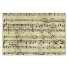 Victorian Music Sheet Wallpaper