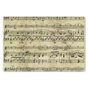 TrinketsandTreasures Victorian Music Sheet Wallpaper