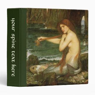 Victorian Mythology Art, Mermaid by JW Waterhouse Binder