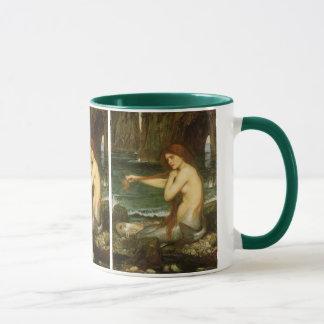 Victorian Mythology Art, Mermaid by JW Waterhouse Mug