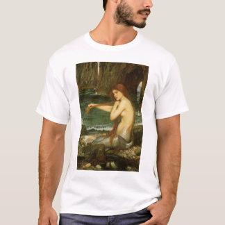 Victorian Mythology Art, Mermaid by JW Waterhouse T-Shirt