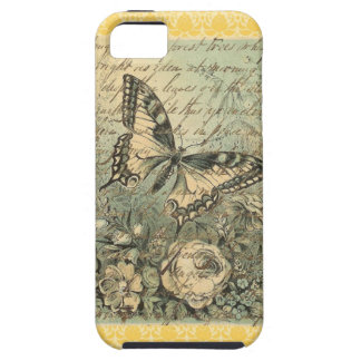 Victorian Natural Butterfly Collage iPhone SE/5/5s Case