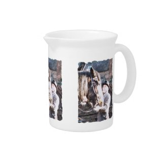 VICTORIAN OLD ENGLAND DRINK PITCHER