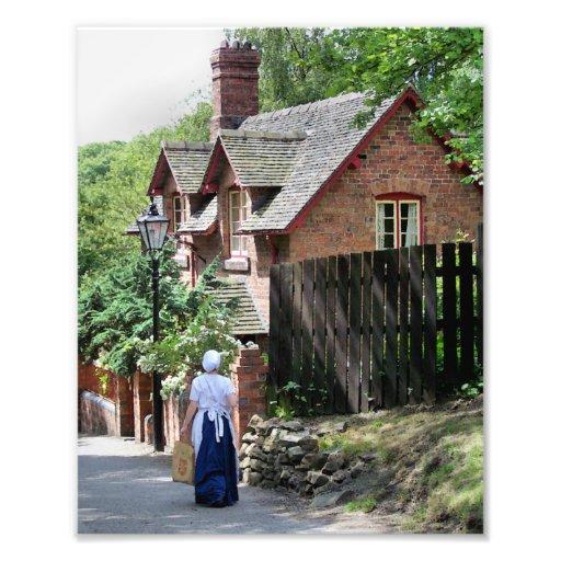 VICTORIAN OLD ENGLAND UK PHOTOGRAPHIC PRINT