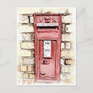 VICTORIAN OLD ENGLAND UK postcard