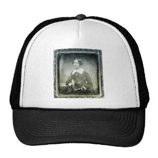 Victorian Old Woman Portrait Trucker Hat