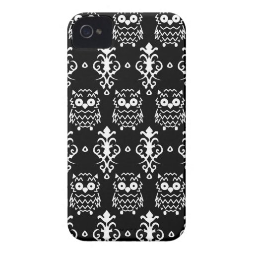 Victorian Owl Case iPhone 4 Covers