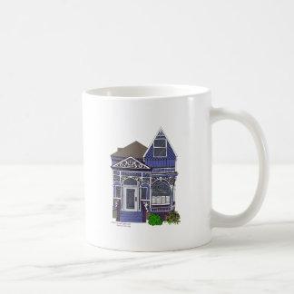 Victorian Painted Lady - Blue Coffee Mug