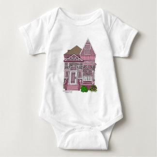 """Victorian """"Painted Lady"""" - pink T Shirts"""