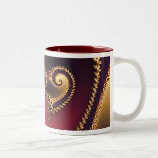 Victorian Paisley Mugs