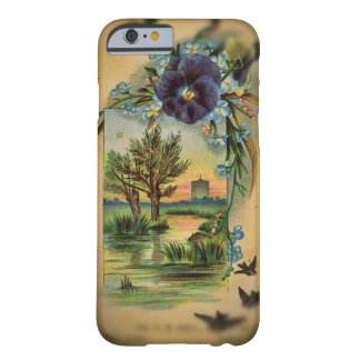 Victorian Pansy Pastoral Barely There iPhone 6 Case