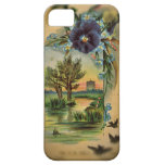 Victorian Pansy Pastoral iPhone 5 Cover