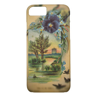 Victorian Pansy Pastoral iPhone 8/7 Case