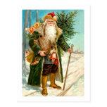 Victorian Papá Noel Postal