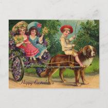 Victorian Parade Easter Vintage Postcard