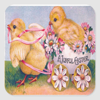 Victorian Pascua Colcomanias Cuadradass