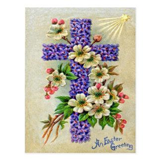 Victorian Pascua Tarjeta Postal