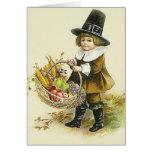 Victorian Pilgrim Thanksgiving Note Card