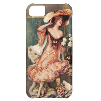 Victorian Pin Up Girl Dress Fashion Costume Paris iPhone 5C Cover