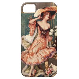 Victorian Pin Up Girl Dress Fashion Costume Paris iPhone SE/5/5s Case
