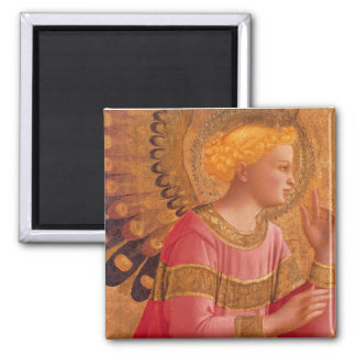 Victorian Pink Angel Magnet
