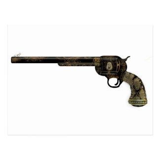 Victorian Pistol Postcard