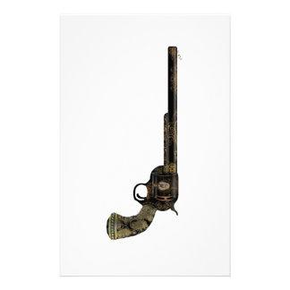 Victorian Pistol Stationery Design