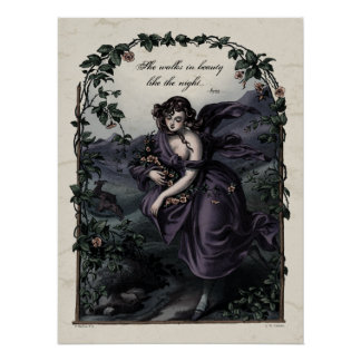 Victorian Poetry Glossy Perfect Poster - Byron