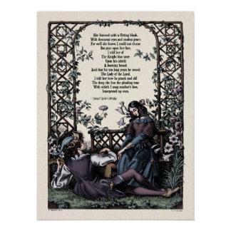 Victorian Poetry Glossy Perfect Poster - Coleridge