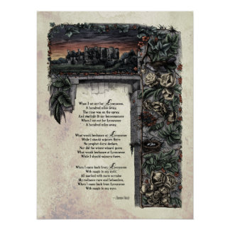 Victorian Poetry Glossy Perfect Poster - Hardy