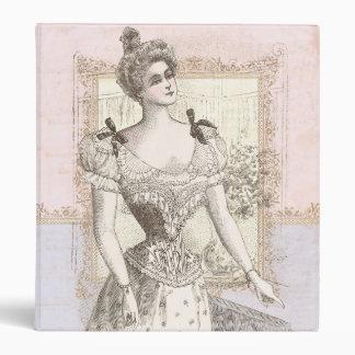 Victorian Pompadour Corset Antique Fashions Binder