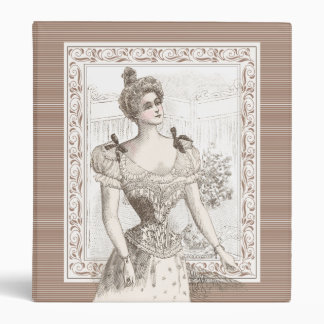 Victorian Pompadour Corset Elegant Lady Binder