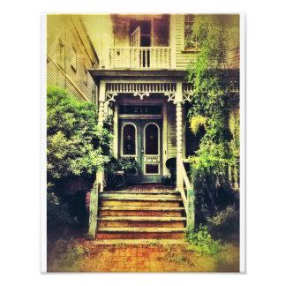 Victorian Porch, Savannah Photo Print