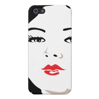 Victorian Portrait iPhone SE/5/5s Cover