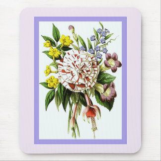 Victorian Posy Mouse Mat