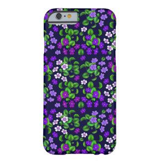 Victorian Purple Violet Flowers iPhone 6 Case