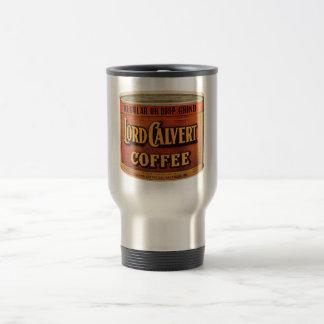 Victorian que hace publicidad del pedazo - señor taza térmica
