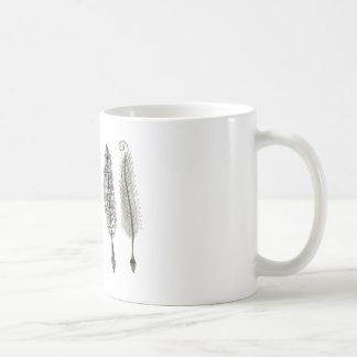Victorian Quills Ink Design Coffee Mug