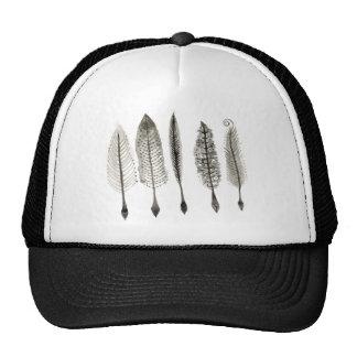Victorian Quills Ink Design Trucker Hat