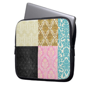 Victorian Quilted Pattern-Laptop Sleeve