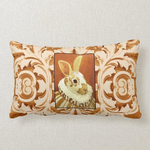 Victorian Rabbit II Pillow
