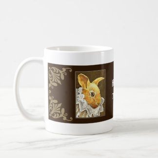 Victorian Rabbit Mug
