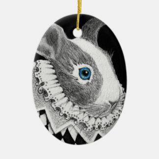 Victorian Rabbit Ornament