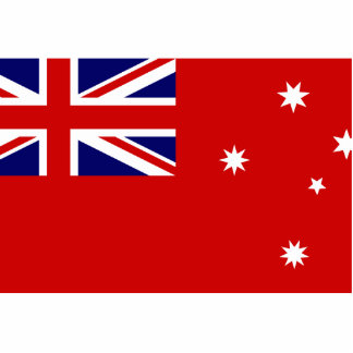 Victorian Red Ensign, Australia flag Cut Out