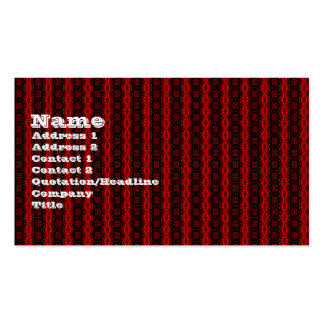 Victorian Red gothic Business Card