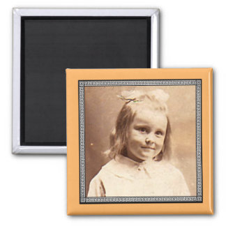 Victorian Roman Border Photo Frame Magnet