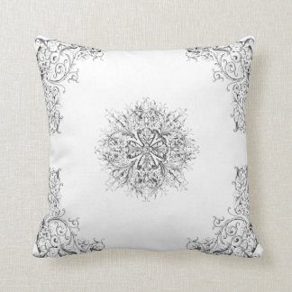 Victorian Romance Throw Pillow