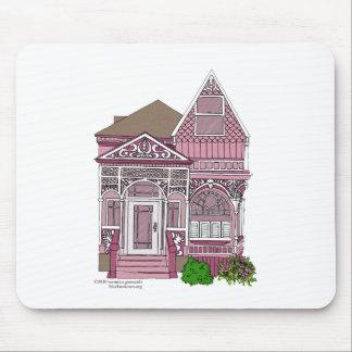 """Victorian """"rosa pintado de la señora"""" - alfombrilla de raton"""