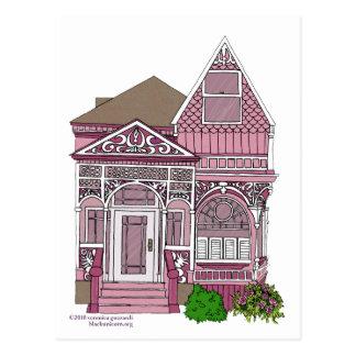 """Victorian """"rosa pintado de la señora"""" - postales"""
